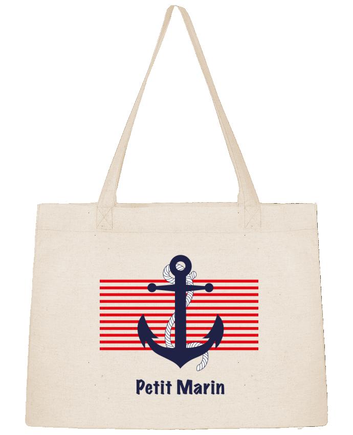 Sac Shopping Petit Marin par M.C DESIGN