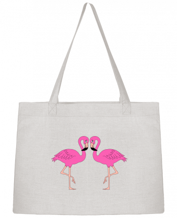 Sac Cabas Shopping Stanley Stella Flamingo par M.C DESIGN