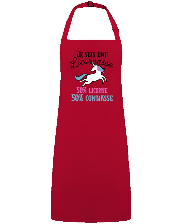 Tablier Sans Poche Licornasse humour cadeau par  Original t-shirt