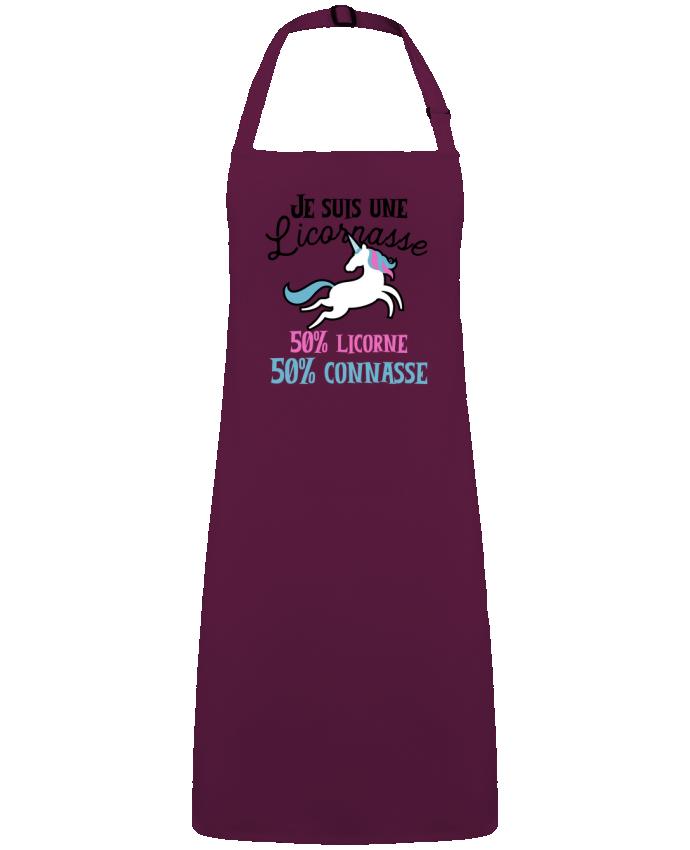 Tablier Licornasse humour cadeau par  Original t-shirt