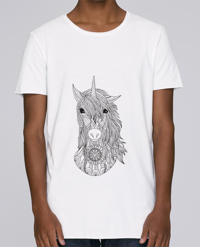 T-shirt Homme Oversized Stanley Skates Unicorn par Bichette