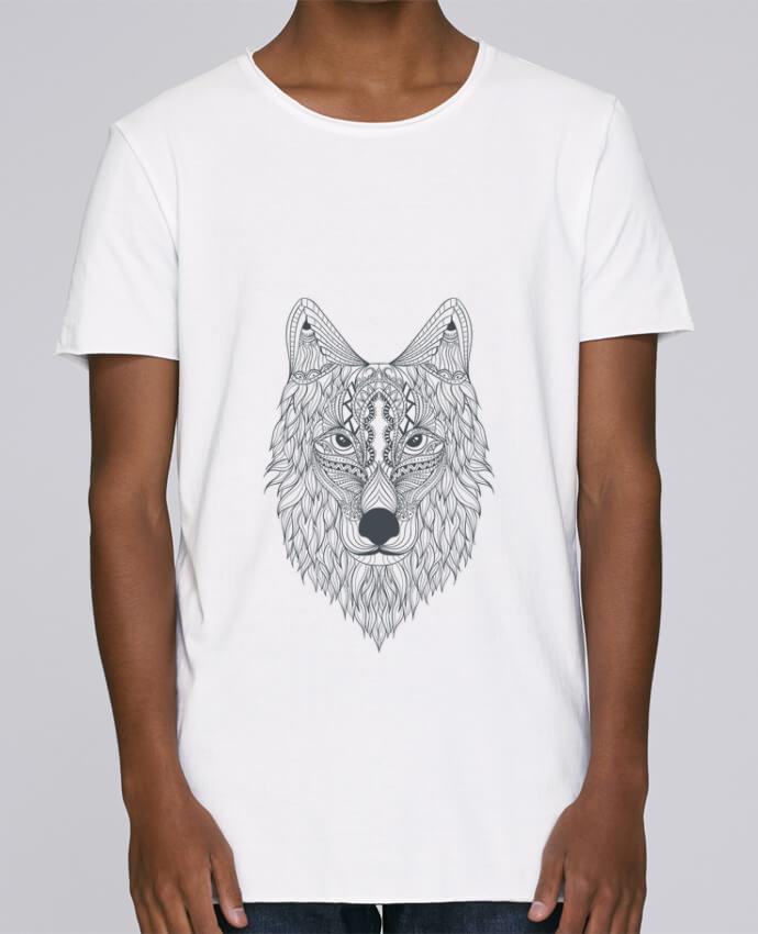 T-shirt Homme Oversized Stanley Skates Wolf par Bichette