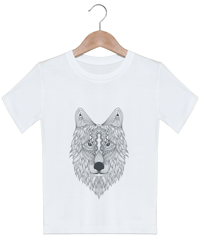 T-shirt garçon motif Wolf Bichette