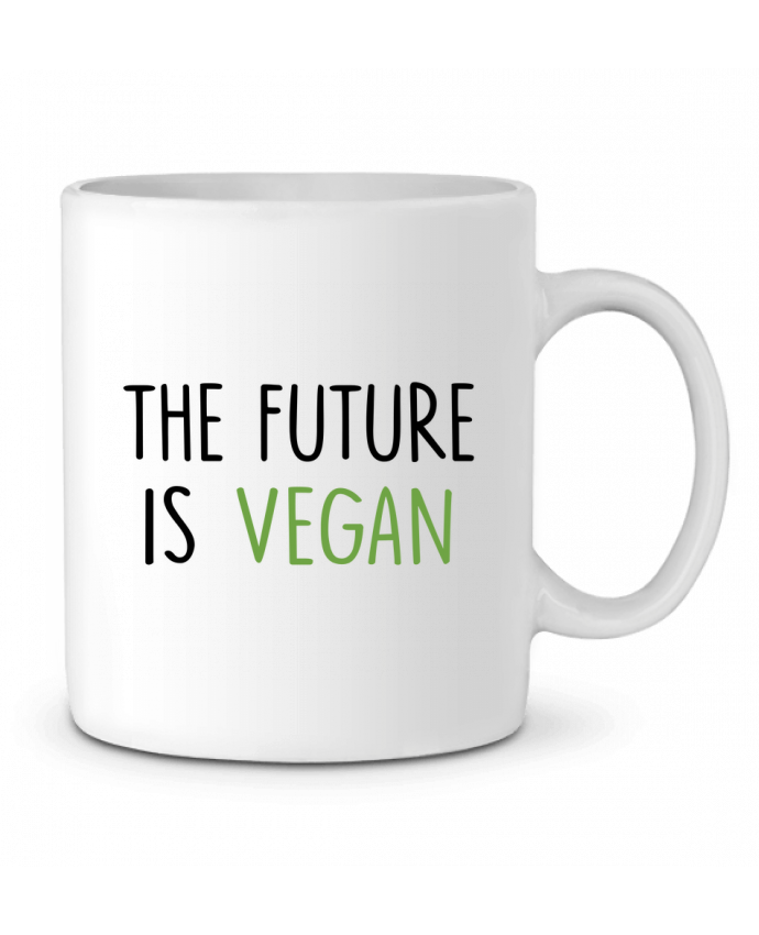 Mug en Céramique The future is vegan par Bichette