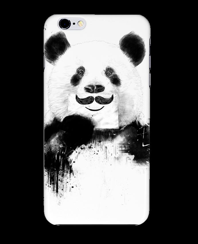 Coque 3D Iphone 6+ Funny Panda Balàzs Solti de Balàzs Solti