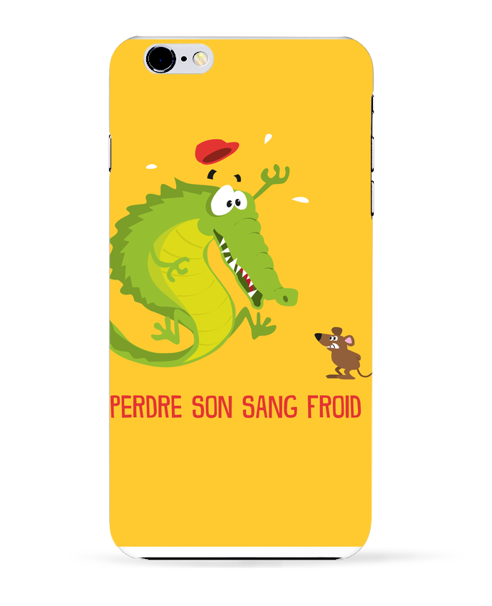 Coque 3D Iphone 6+ Sang froid de Rickydule
