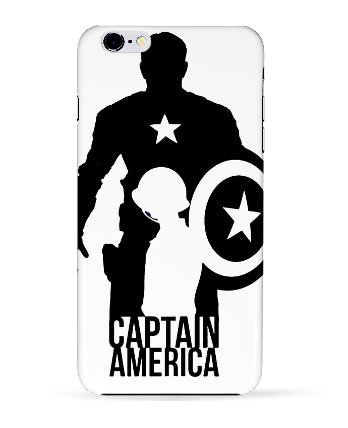 Coque 3D Iphone 6+ Captain america de Kazeshini