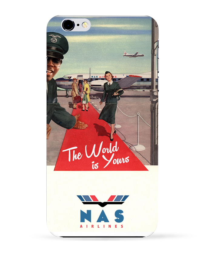 Coque 3D Iphone 6+ Nas Airlines de Ads Libitum