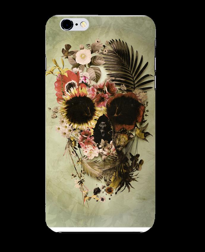 Coque 3D Iphone 6+ Garden Skull de ali_gulec