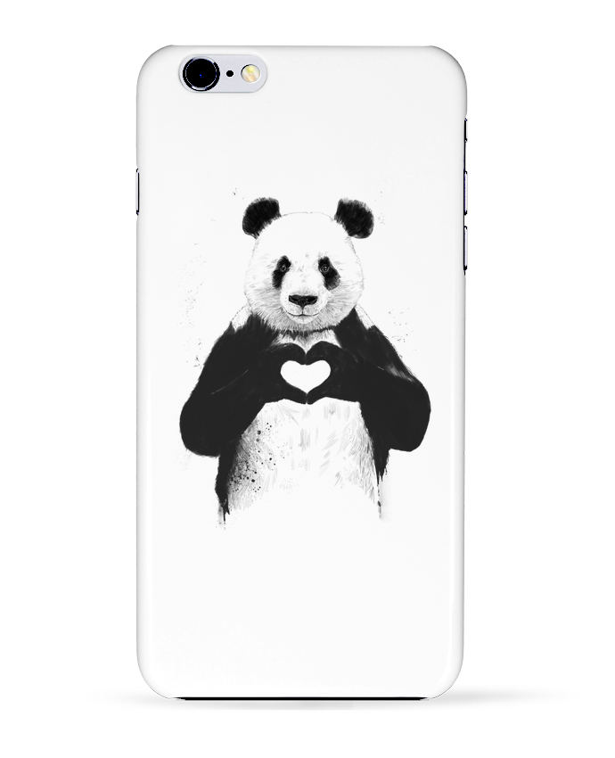 Coque 3D Iphone 6+ All you need is love de Balàzs Solti