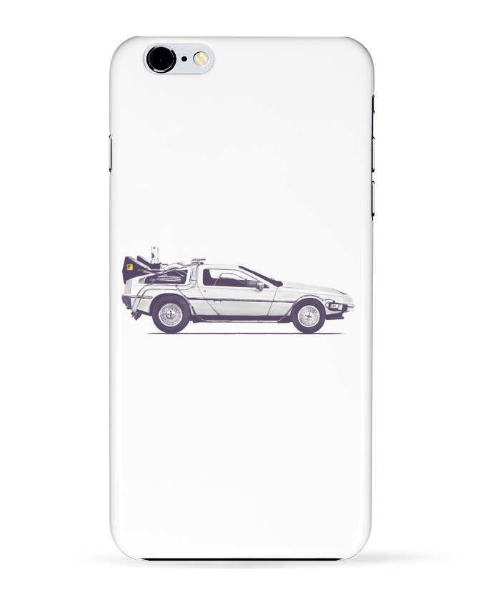 Coque 3D Iphone 6+ Dolorean de Florent Bodart