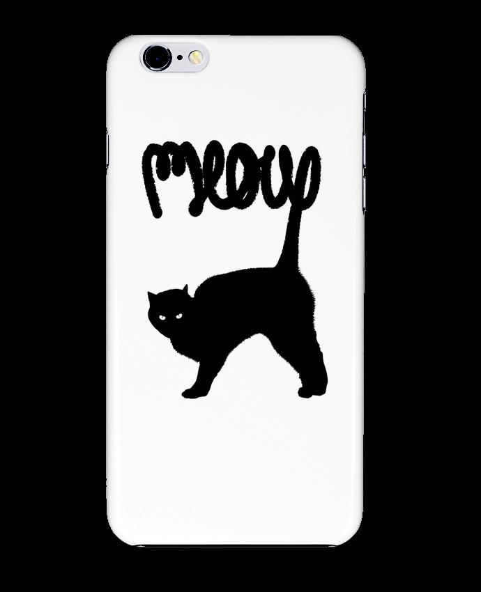 Coque 3D Iphone 6+ Meow de Florent Bodart