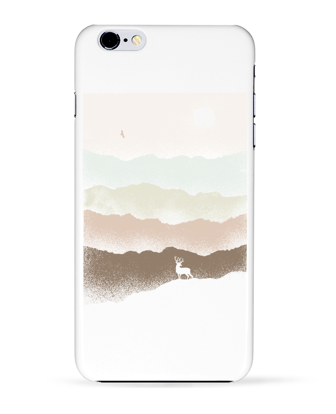 Coque 3D Iphone 6+ Quietude de Florent Bodart