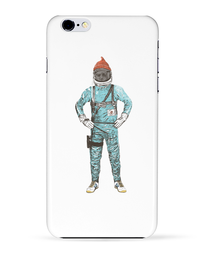 Coque 3D Iphone 6+ Zissou in space de Florent Bodart