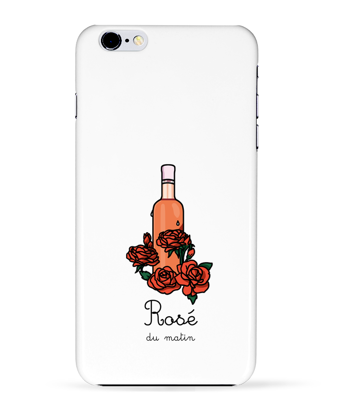 Coque 3D Iphone 6+ Rosé du matin de tattooanshort