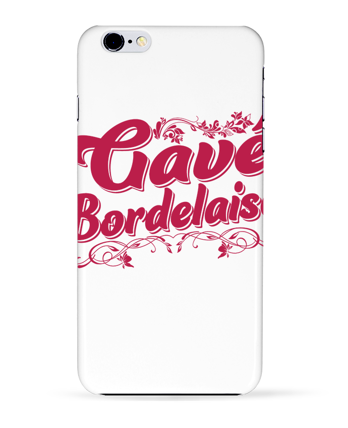 Coque 3D Iphone 6+ Gavé Bordelaise de tunetoo