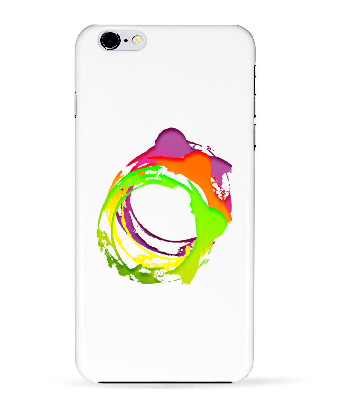 2271238 coque 3d iphone 6 plus blanc logo swag by cobiweb