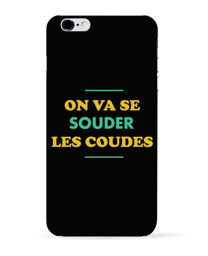Coque 3D Iphone 6+ On va se souder les coudes de tunetoo