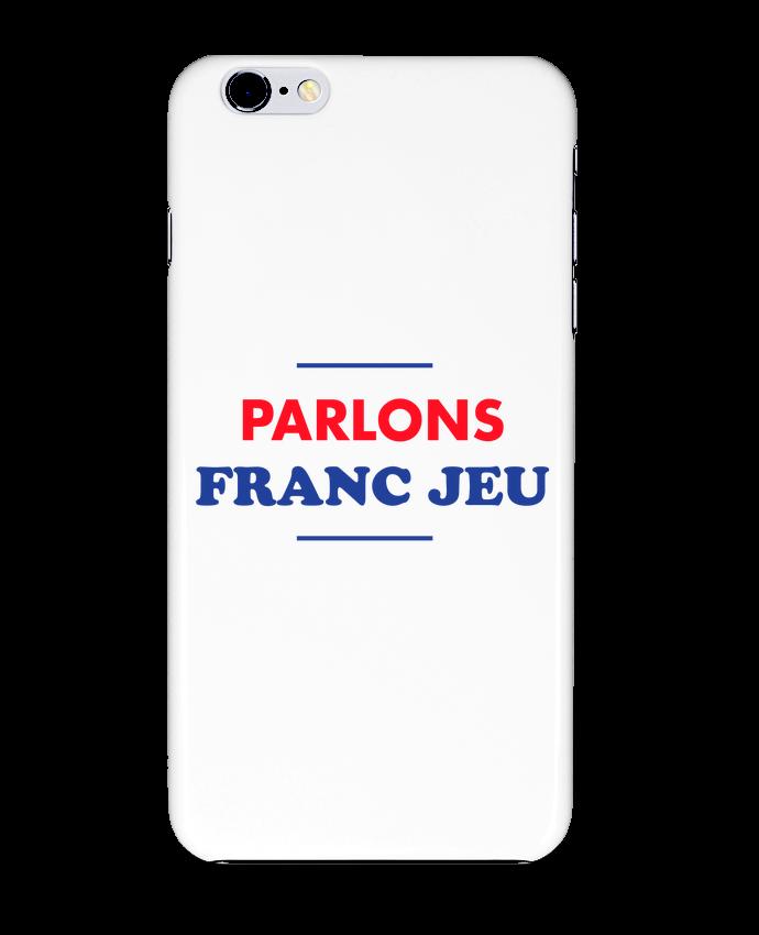 Coque 3D Iphone 6+ Parlons franc jeu de tunetoo