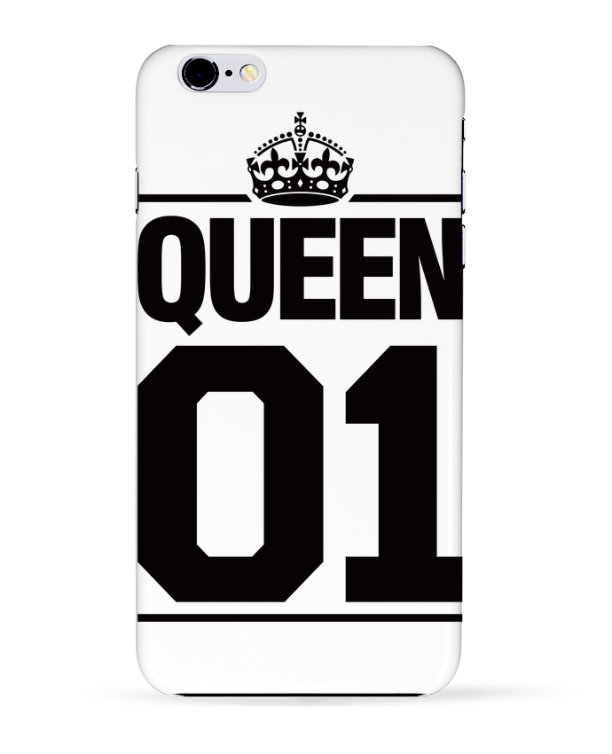 Coque 3D Iphone 6+ Queen 01 de Freeyourshirt.com