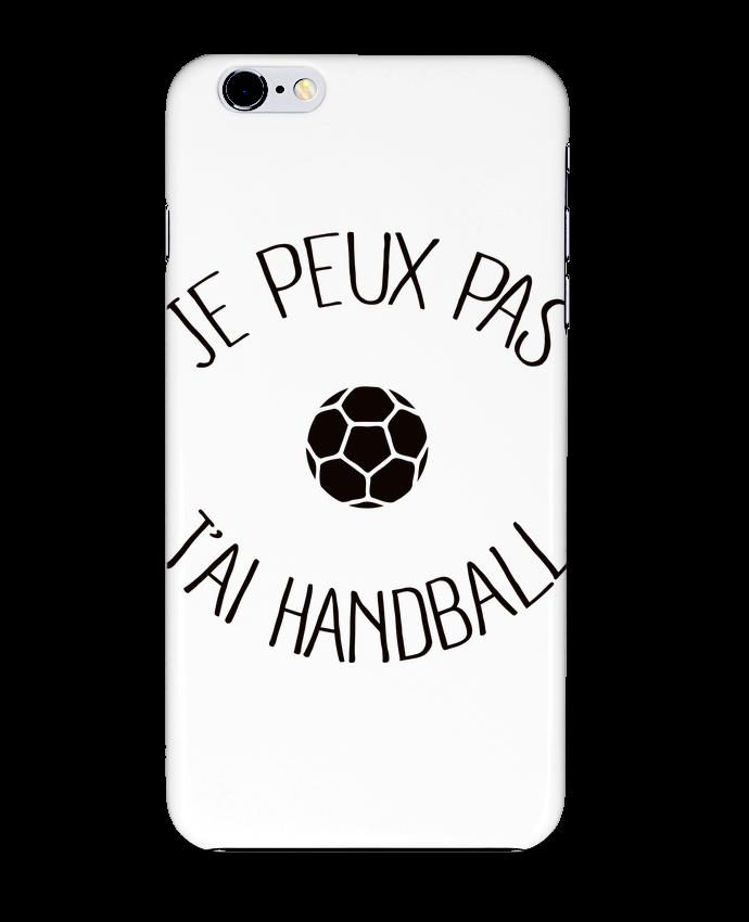 Coque 3D Iphone 6+ Je peux pas j'ai Handball de
