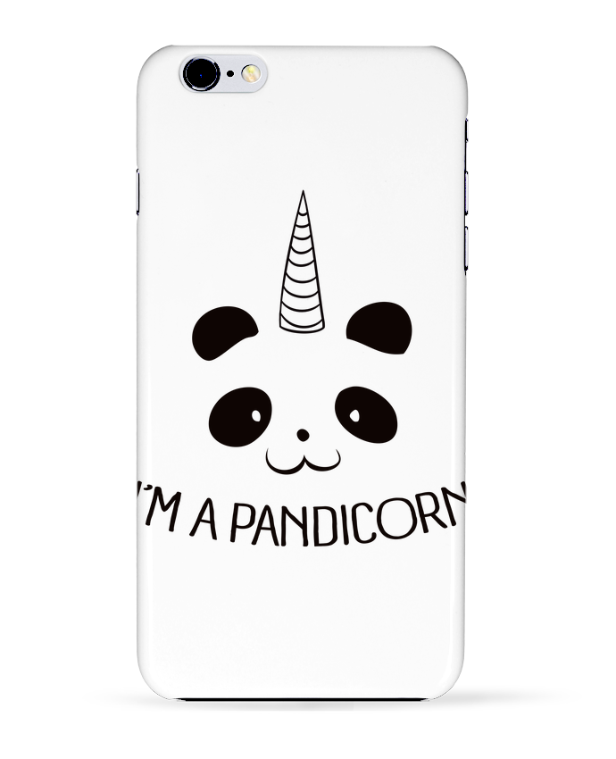 Coque 3D Iphone 6+ I'm a Pandicorn de Freeyourshirt.com