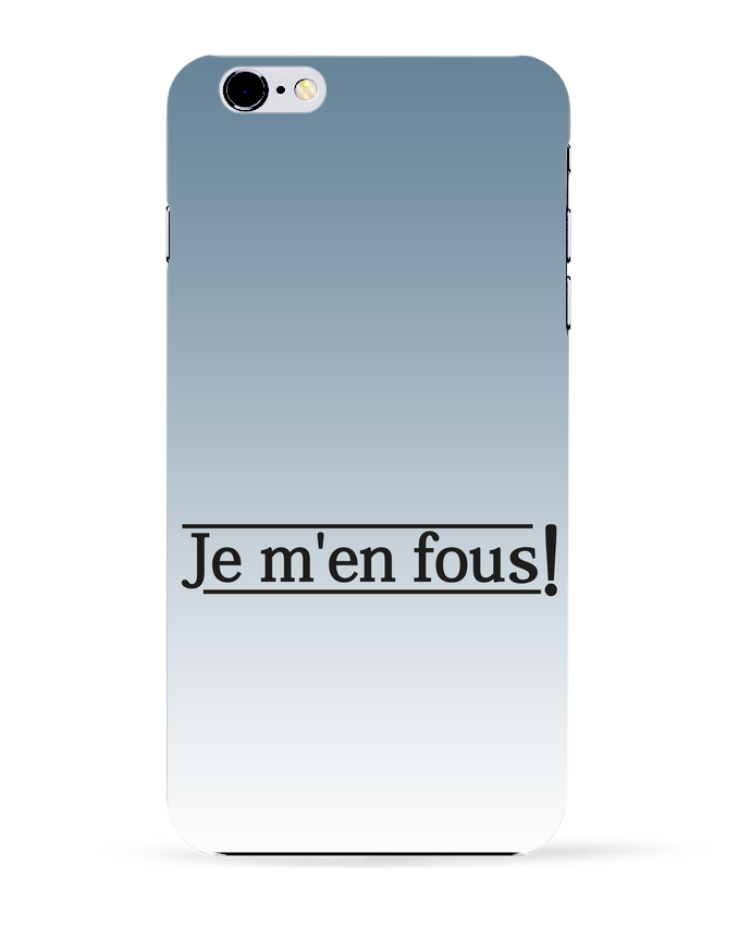 Coque 3D Iphone 6+ Je m