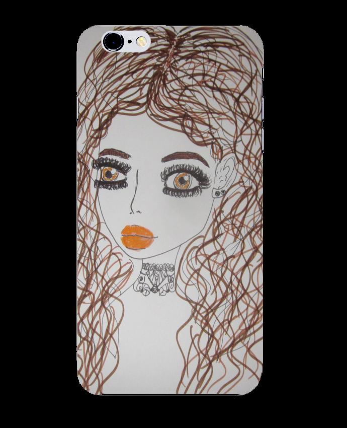 coque iphone 6 brunette