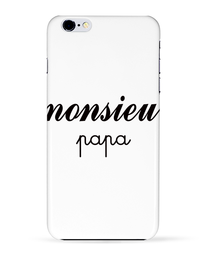 COQUE Iphone 6+ | Monsieur Papa de Freeyourshirt.com
