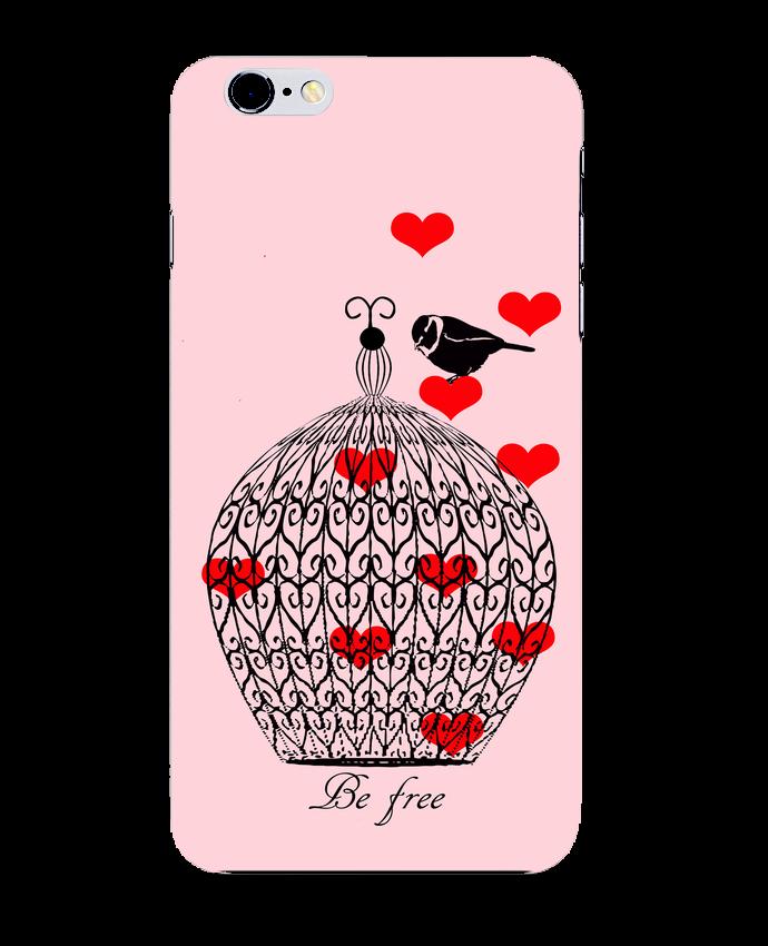 Coque 3D Iphone 6+ Be free de Les Caprices de Filles