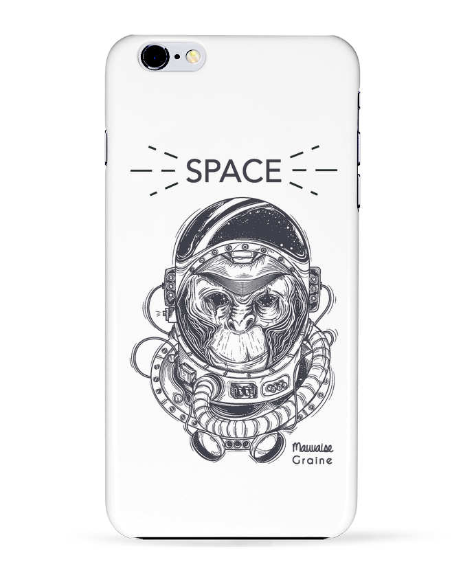 Coque 3D Iphone 6+ Monkey space de Mauvaise Graine