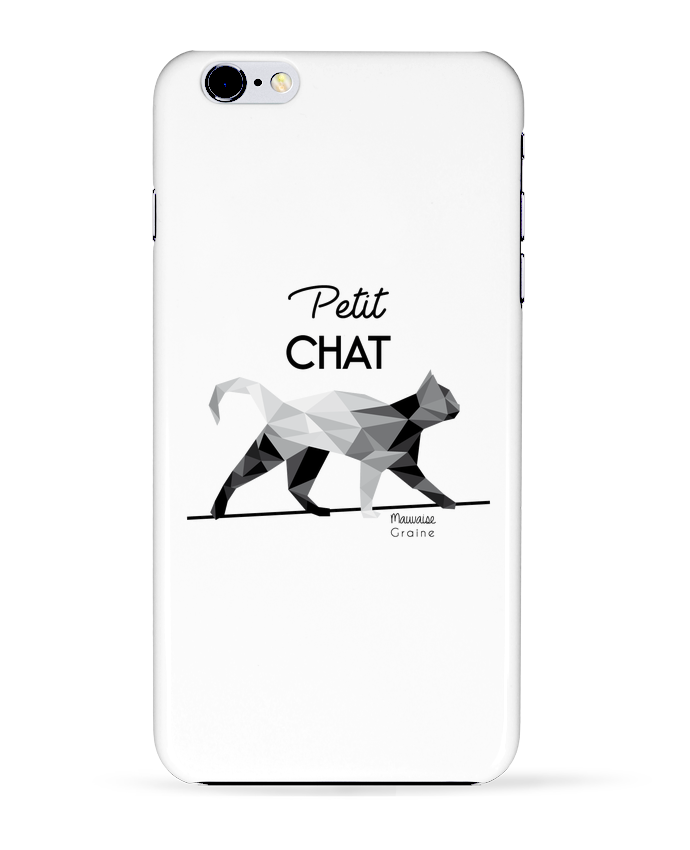 2271822 coque 3d iphone 6 plus blanc petit chat origami by mauvaise graine