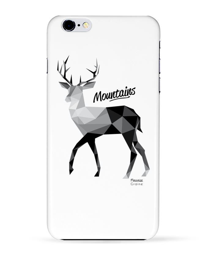 Coque 3D Iphone 6+ Mountains de Mauvaise Graine