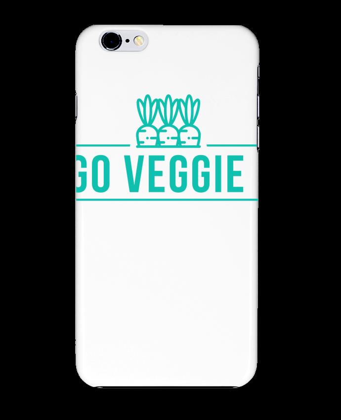 Coque 3D Iphone 6+ Go veggie ! de Folie douce
