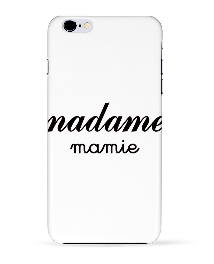 Coque 3D Iphone 6+ Madame Mamie de Freeyourshirt.com