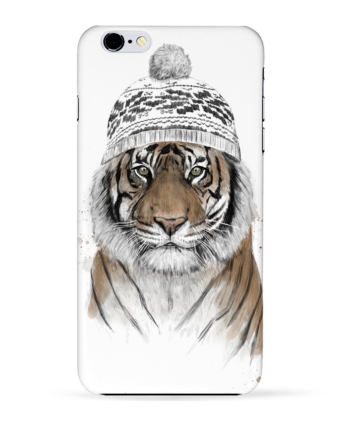 Coque 3D Iphone 6+ Siberian tiger de Balàzs Solti