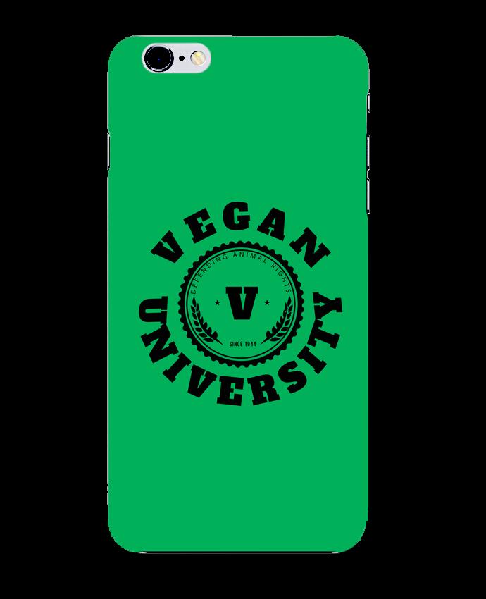 Coque 3D Iphone 6+ Vegan University de Les Caprices de Filles