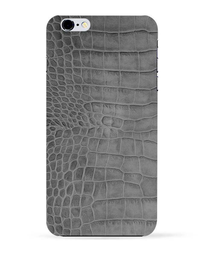 Coque 3D Iphone 6+ Croco gris de Les Caprices de Filles