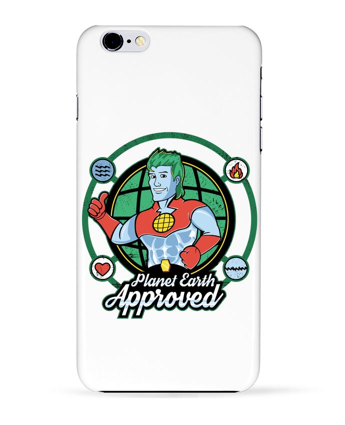 Coque 3D Iphone 6+ Planet Earth Approved de Kempo24