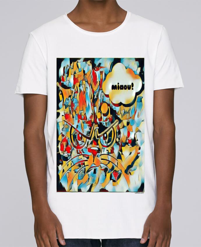T-shirt Homme Oversized Stanley Skates Chat