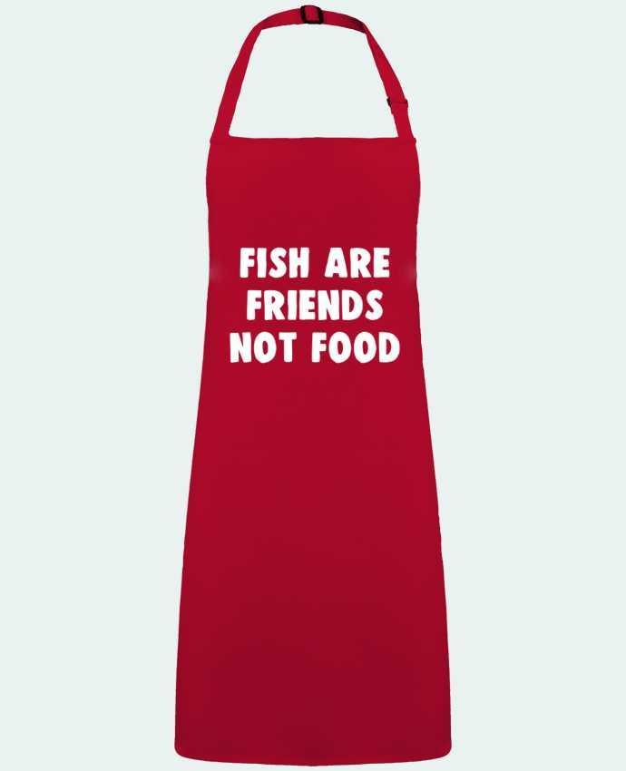 Tablier Sans Poche Fish are firends not food par  Bichette