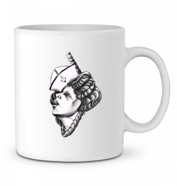 Mug en Céramique Femme capitaine par david
