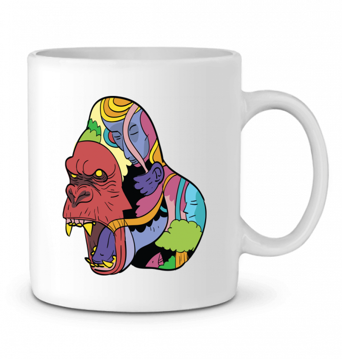 Mug en Céramique wrathofnature par Arya Mularama