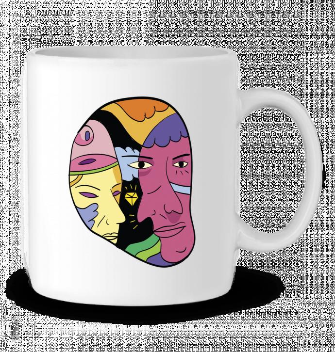 Mug en Céramique destroyer par Arya Mularama