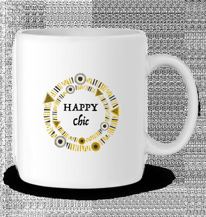 Mug en Céramique Happy Chic par LF Design