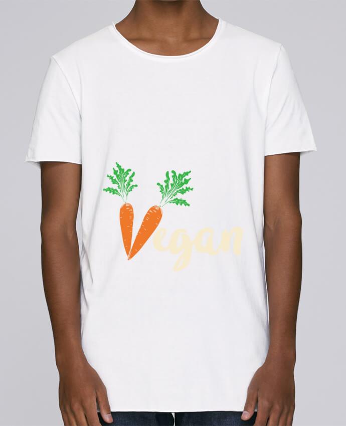 T-shirt Homme Oversized Stanley Skates Vegan carrot par Bichette