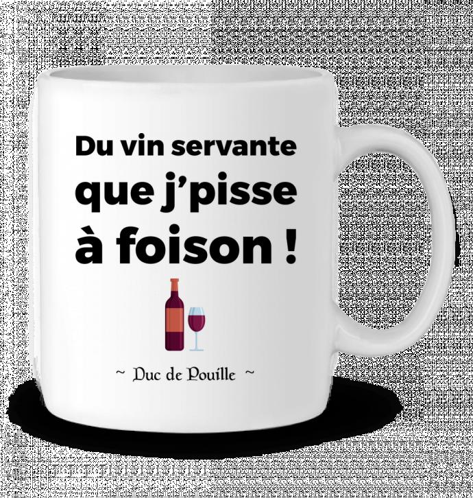 Mug en Céramique Du vin servante par tunetoo