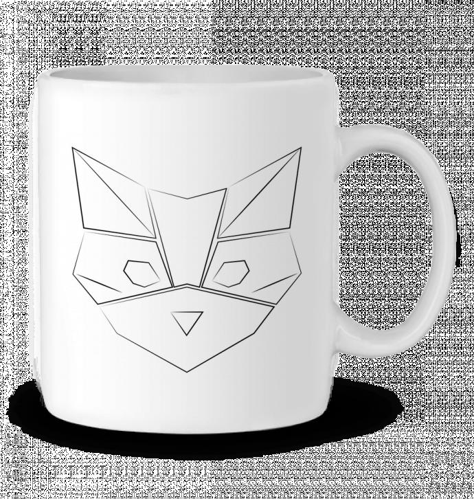 Mug en Céramique Logo chat par Claire
