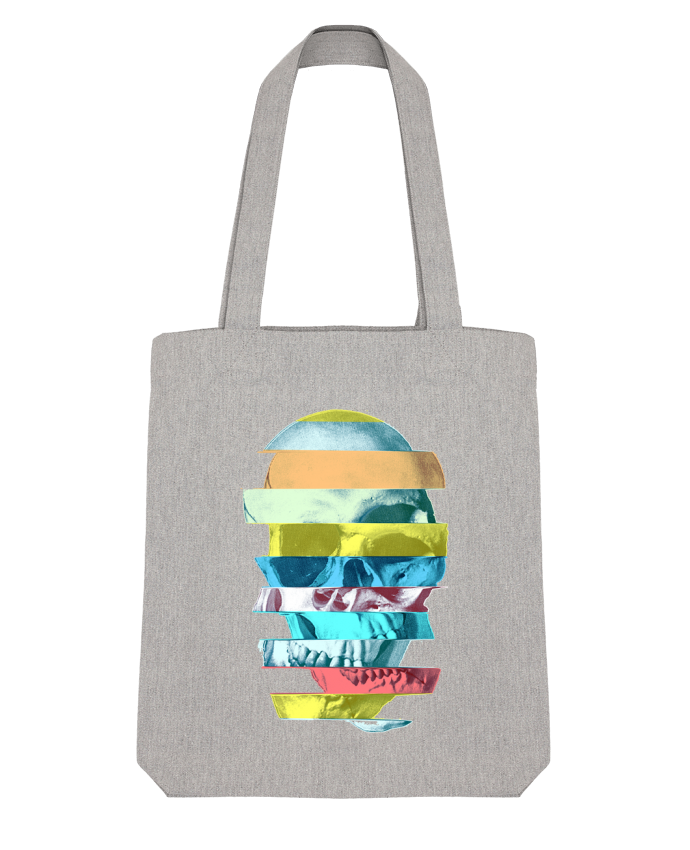Tote Bag Stanley Stella Glitch Skull par ali_gulec