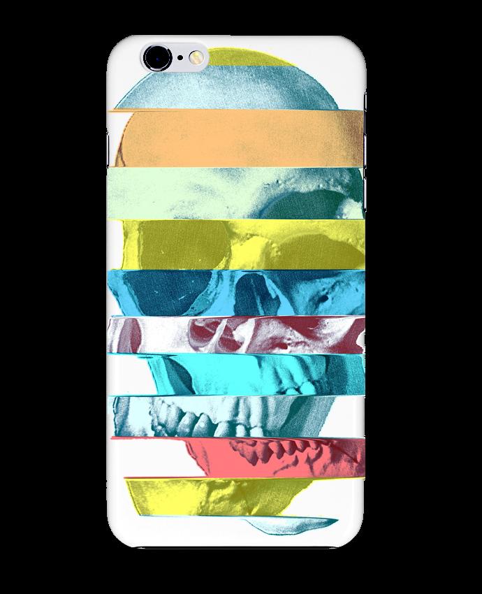 Coque 3D Iphone 6+ Glitch Skull de ali_gulec
